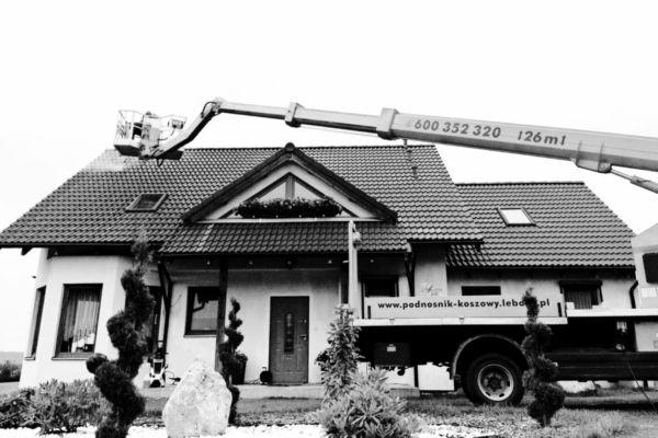 Mycie elewacji  dachów Lębork